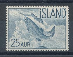 Islande   N°294** Poisson - Saumon - Unused Stamps