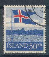Islande   N°287 Drapeau - Usati
