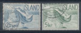 Islande   N°294 Et 297 Poisson - Saumon - Usati