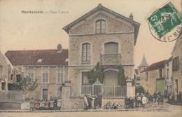 77 /  Montevrain :  Place Carnot     ///  REF  OCT. 19 /// BO. 77 - Autres Communes