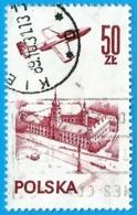 Polonia. Poland. 1978. Michel # 2540. Contemporary Aviation. Plane Over Warsaw Castle - 1944-.... República