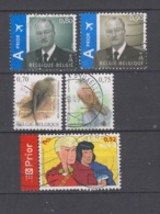 COB 3606 / 3610 Oblitération Centrale Oiseau Buzin Martinet Faucon Bande Dessinée - Used Stamps