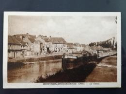 CPSM Menetreol Sous Sancerre - Le Canal - Frankreich