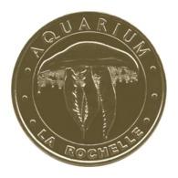 Monnaie De Paris , 2018 , La Rochelle , Aquarium , La Méduse Aurélie - Monnaie De Paris