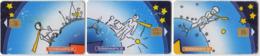 Russia 3 Phonecards Antoine De Saint-Exupery Le Petit Prince - Cultura