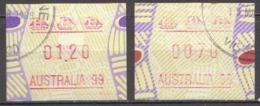 Australia Used Machine Stamps, Australia 99 - Vignette Di Affrancatura (ATM/Frama)
