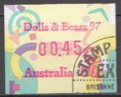 Australia Used Machine Stamp, Dolls And Bears 97 - Vignette Di Affrancatura (ATM/Frama)