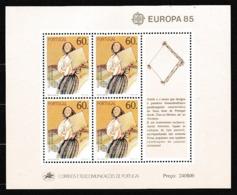 1985 Portogallo Portugal EUROPA CEPT EUROPE Foglietto MNH**  Souv. Sheet - Europa-CEPT