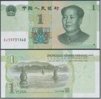 China - 1 Yuan 2019 UNC Lemberg-Zp - China