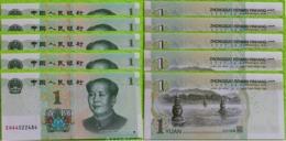 China - 10 Pcs X 1 Yuan 2019 UNC Lemberg-Zp - Cina