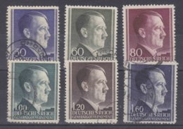Dt.Bes.2.WK Generalgouvernement MiNr. 83-86A Gest. - Occupation 1938-45