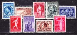 Belgio 1946 Opere Culturali   Serie  Completa MLLH - Belgium