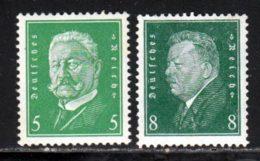 Allemagne Empire 1928 Yvert 402-403 * B Charniere(s) - Deutschland