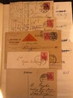 Belle Collection Timbres Sur Enveloppe Allemagne Mise à Prix 1 Euro !!! - Collections