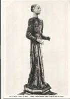 W5466 Perugia - Galleria Nazionale - Statua Di Legno Di Santa - Scultura Sculpture / Non Viaggiata - Sculture