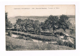 12 - MUR DE BARREZ. RARE. Tournant Du Théron. Autobus; 2 SCANS. - France