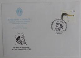 Portugal - 500 Anos Nascimento Pedro Nunes - Departamento Matemática Universidade De Coimbra 2002 - Marcofilie