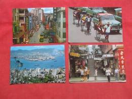 China (Hong Kong)  Lot Of 8 Cards-- Larger Format Approx.  4 X 6  -------- Ref-- 3697 - Cina (Hong Kong)