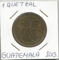 B9 Guatemala 1 Quetzal 2013. - Guatemala