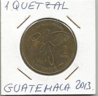 B8 Guatemala 1 Quetzal 2013. - Guatemala