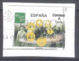 España 2019 - 1 Sello Usado - 40 Años De La Seguridad Social- Espagne Spain Spanien - 2011-... Usados