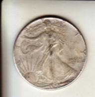 1 Dollar 1900 Fausse Pièce Aspect Argent Mais Aimantable - 1878-1921: Morgan