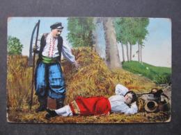 AK UKRAINA Ukraine Polen Tracht Costumi Typen Ca. 1915 /// D*40544 - Ukraine