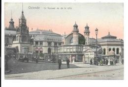 Oostende - Le Kursaal Vu De La Ville. - Oostende