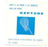 Oléron Domino Calendrier Marées 1977 Bazar  Plage - Publicités