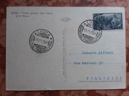 REPUBBLICA - Marcofilia - Giornata Del Francobollo 1948 + Spese Postali - 6. 1946-.. Republic