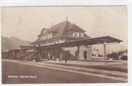Grenchen - Bahnhof Mit Dampfzug - 1923      (P-186-61026) - SO Soleure