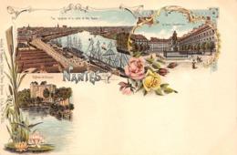 NANTES - Chromolithographie Multivues N° 925 Type GRUSS Avant 1900 (Loire-Atlantique) - Nantes