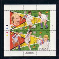 Soccer World Cup 1994 - Football - GUYANA - Sheet MNH - World Cup