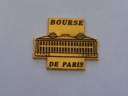 Pin's BOURSE DE PARIS C - Banks