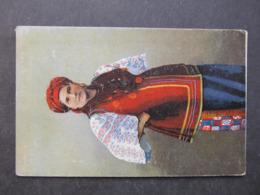 AK UKRAINA Ukraine Polen Tracht Costumi Typen Ca. 1915 /// D*40549 - Ukraine