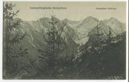 Famous Romanian Photographers - E. Fischer - The Transylvanian Carpathians - Arpașului Ridge - Romania