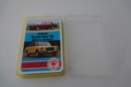 Speelkaarten - Kwartet, BMW Kontra Mercedes Rare 1975 Collector, Qaurtett 3271/7 ASS, *** - - Barajas De Naipe