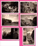 Lot De 6 Photo - Gaasbeek - Château - Famille Et Amis - Animée - AGFA LUPEX - 1934 - Orte