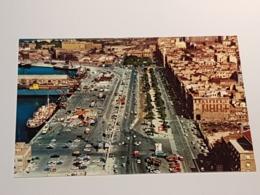 Cagliari, Hafen Via Roma (nicht Gelaufen, Ca. 1980); H36 - Cagliari