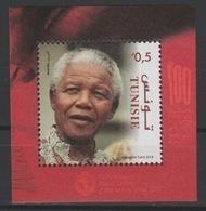 Tunisie Tunesia 2018 Mi. ? S/S Joint Issue PAN African Postal Union Nelson Mandela Madiba 100 Years - Tunesien (1956-...)