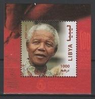 Libye Libya 2018 Mi. ? S/S Joint Issue PAN African Postal Union Nelson Mandela Madiba 100 Years - Libye