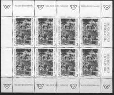 Bm Austria 1994 MiNr 2127 Blackprint (Schwarzdruck) Kleinbogen Sheet MNH | Stamp Day - 1945-.... 2nd Republic