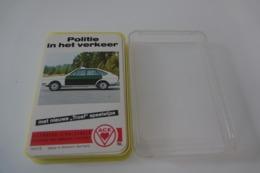 Speelkaarten - Kwartet, Autos Politie In Het Verkeer, ACE, *** - - Speelkaarten
