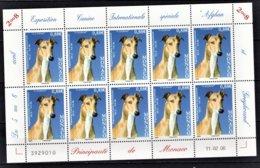 MONACO 2008 - FEUILLE DE 10 TP / N°2622 - NEUFS** - Blocks & Sheetlets