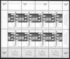 Bm Austria 2000 MiNr 2315 Blackprint (Schwarzdruck) Kleinbogen Sheet MNH | Stamp Day - 1945-.... 2nd Republic