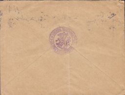 Finland PAR AVION Label FINLANDS STATSKONTOR, HELSINKI Helsingfors 1937 TMS Cds. 1937 Cover Brief BASEL Schweiz - Finland