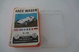 Speelkaarten - Kwartet, Autos Race Wagen , Ferd. Piatnik & Söhne, No. 299, *** - Vintage 1965 - Speelkaarten