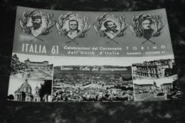 7864     TORINO, CELEBRAZIONI DEL CENTENARIO DELL'UNITA D'ITALIA, MAGGIO-OTTOBRE 61 - Italia