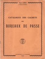 BUREAUX DE PASSE / 1954 CATALOGUE DE HENRI LORNE(ref CAT109) - Guides & Manuels