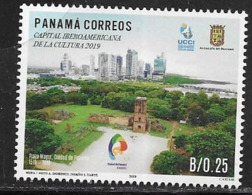 PANAMA, 2019, MNH, PANAMA CITY, IBEROAMERICAN CULTURE CAPITAL,1v - Cultures